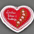 Large licitar heart – a piece